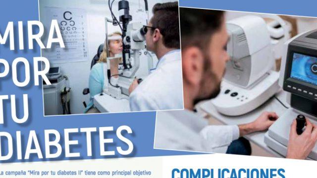 Comienza campaña para la revisión de la salud visual de las personas con diabetes