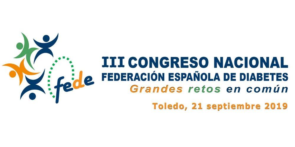 La federación Española de Diabetes celebrará en septiembre su III Congreso en Toledo