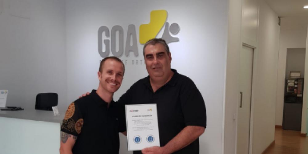 Corner firma acuerdo de colaboración con GOA Ortopedia