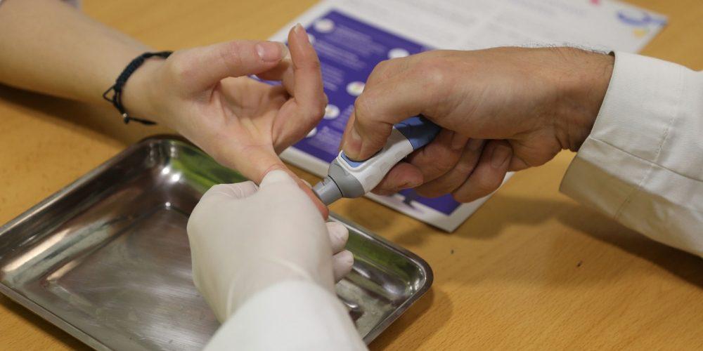 Más de 300 usuarios participaron en cribado de la diabetes