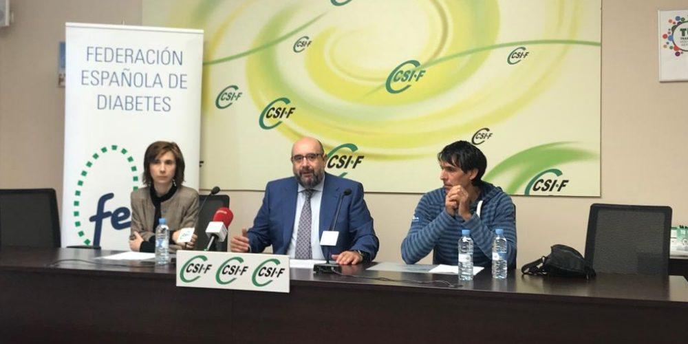 Personas que padecen diabetes tienen limitado el acceso al empleo público en España
